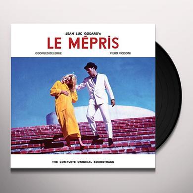 Georges Delerue / Piero Piccioni LE MEPRIS / IL DISPREZZO Vinyl Record