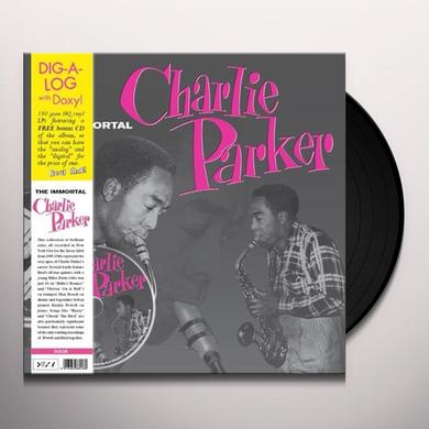 IMMORTAL CHARLIE PARKER Vinyl Record - w/CD
