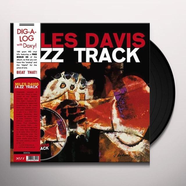 Miles Davis JAZZ TRACK Vinyl Record - w/CD