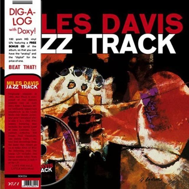 Miles Davis JAZZ TRACK Vinyl Record