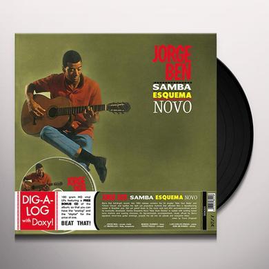 Jorge Ben SAMBA ESQUEMA NOVO Vinyl Record - w/CD