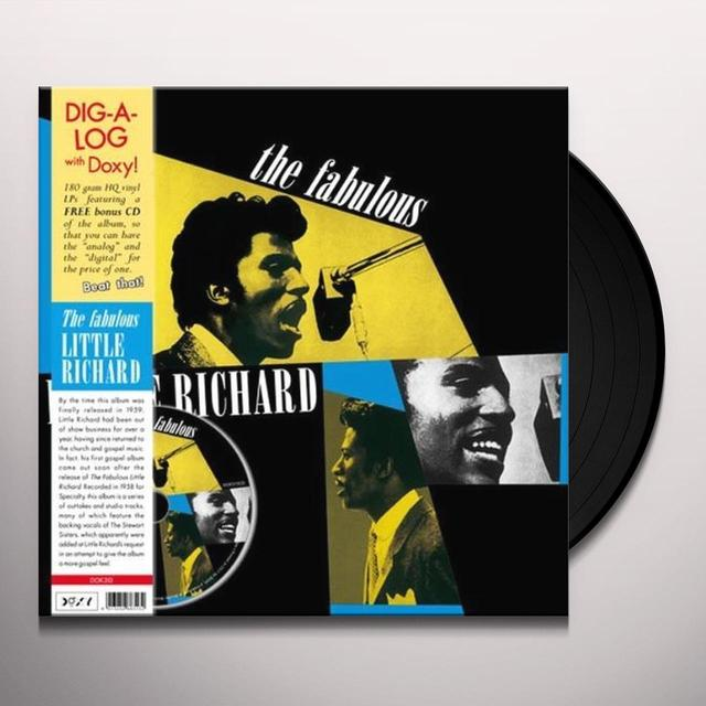FABULOUS LITTLE RICHARD Vinyl Record - w/CD