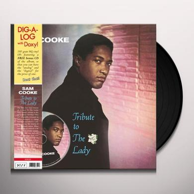 Sam Cooke TRIBUTE TO THE LADY Vinyl Record - w/CD