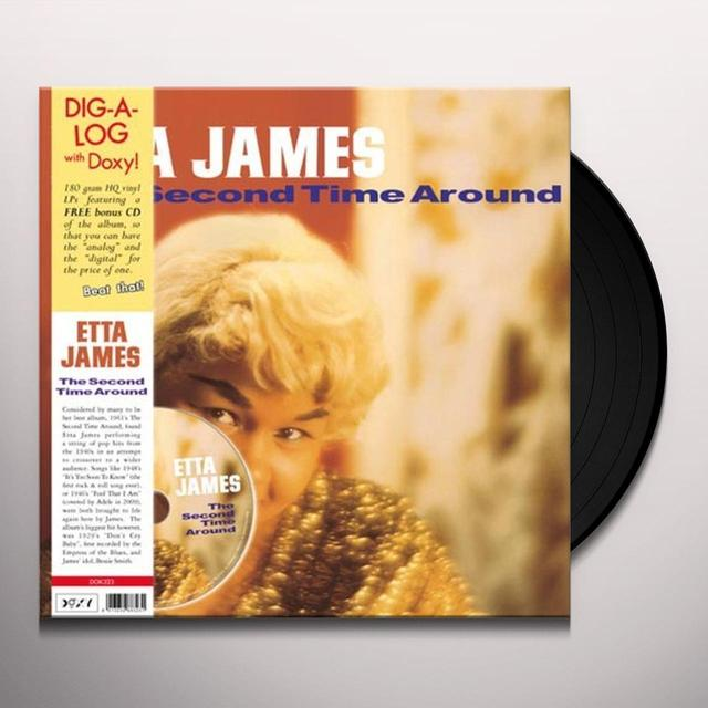 Etta James SECOND TIME AROUND Vinyl Record