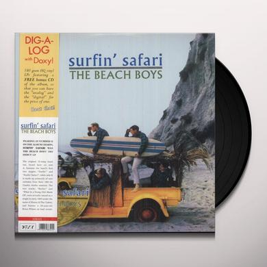 The Beach Boys SURFIN' SAFARI Vinyl Record