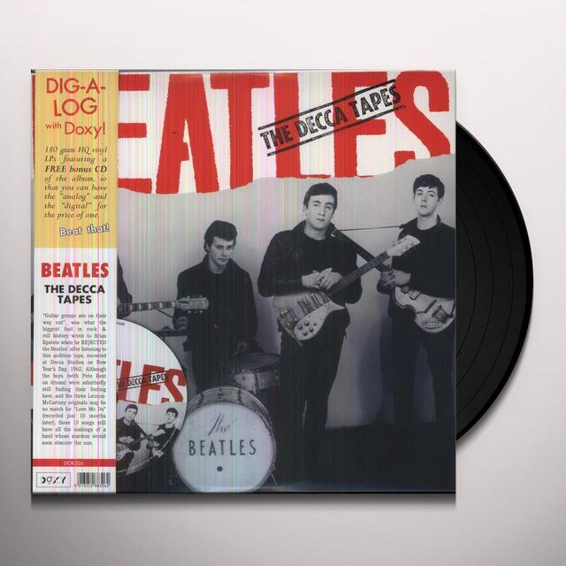 The Beatles DECCA TAPES Vinyl Record - w/CD