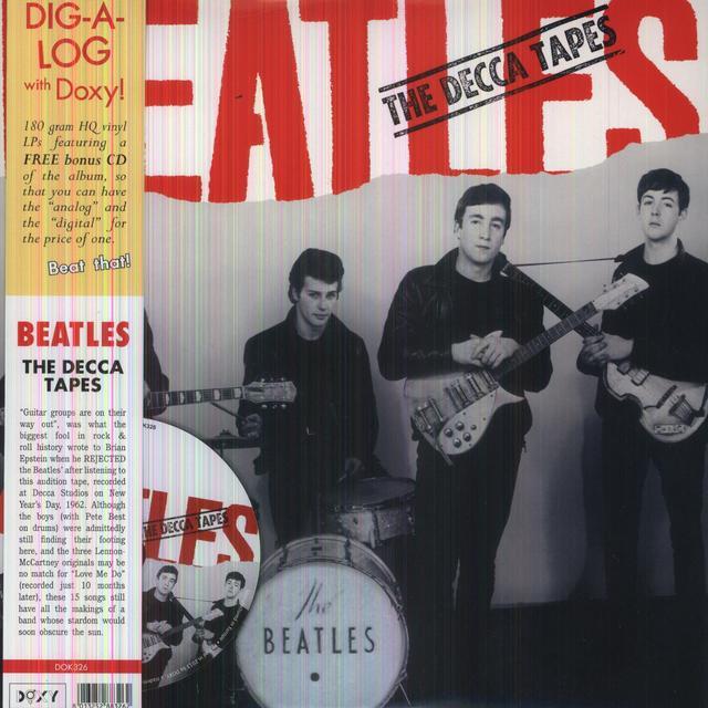 The Beatles DECCA TAPES Vinyl Record