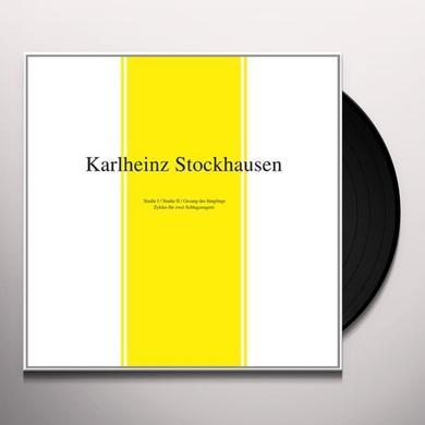 Karlheinz Stockhausen STUDIE I & II / GESANG DER JUNGLINGE Vinyl Record
