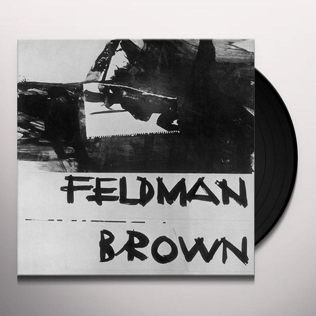 MORTON FELDMAN / EARLE BROWN Vinyl Record