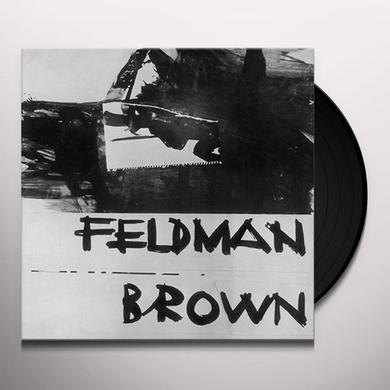 MORTON FELDMAN / EARLE BROWN Vinyl Record