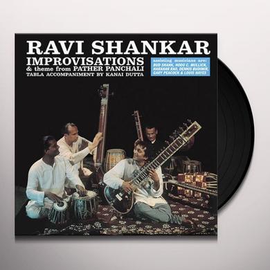 Ravi Shankar IMPROVISATIONS Vinyl Record