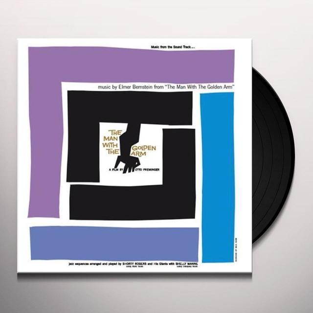 Elmer Bernstein MAN WITH THE GOLDEN ARM Vinyl Record