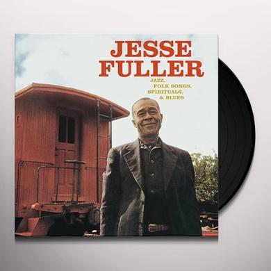 Jesse Fuller JAZZ FOLK SONGS SPIRITUALS & BLUES Vinyl Record