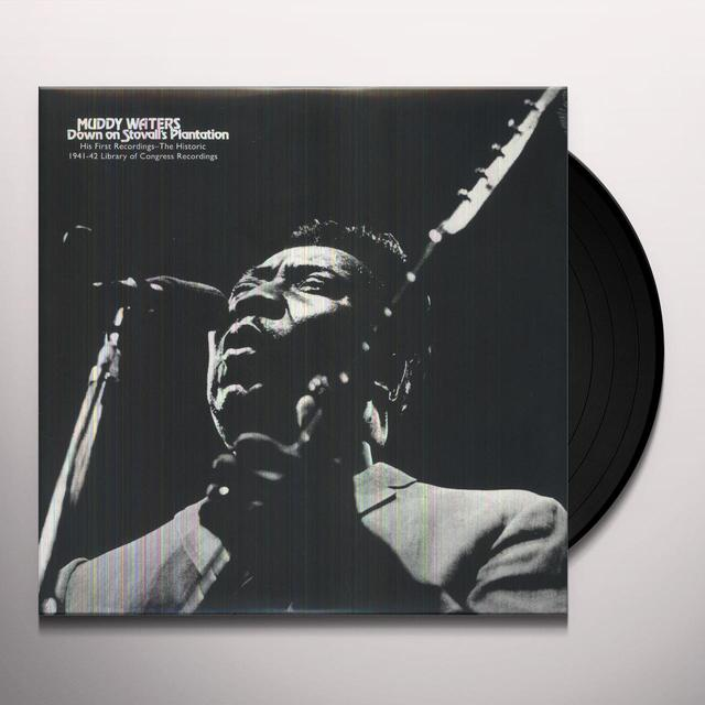 Muddy Waters DOWN ON STOVALL'S PLANTATION Vinyl Record