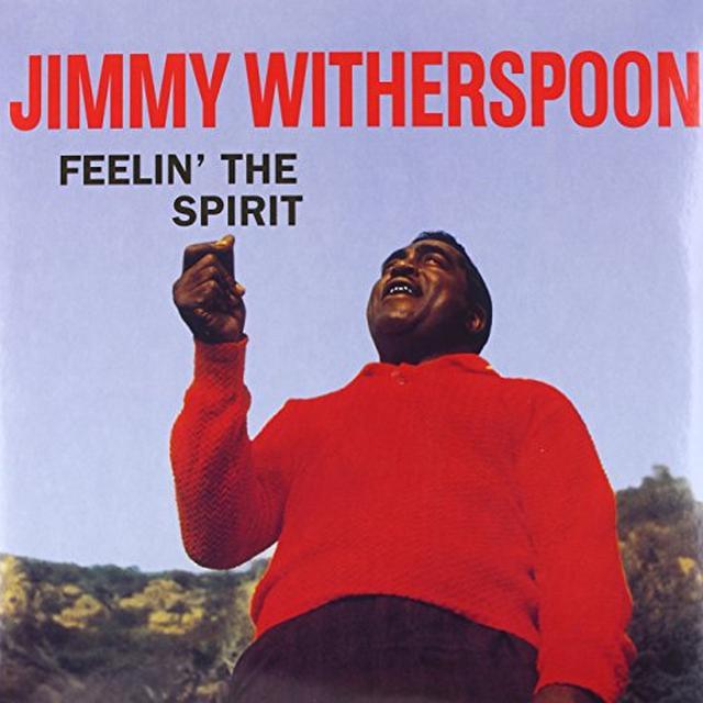 Jimmy Witherspoon FEELIN' THE SPIRIT Vinyl Record