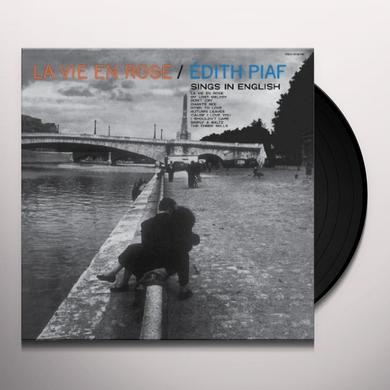 LA VIE EN ROSE: EDITH PIAF SINGS IN ENGLISH Vinyl Record