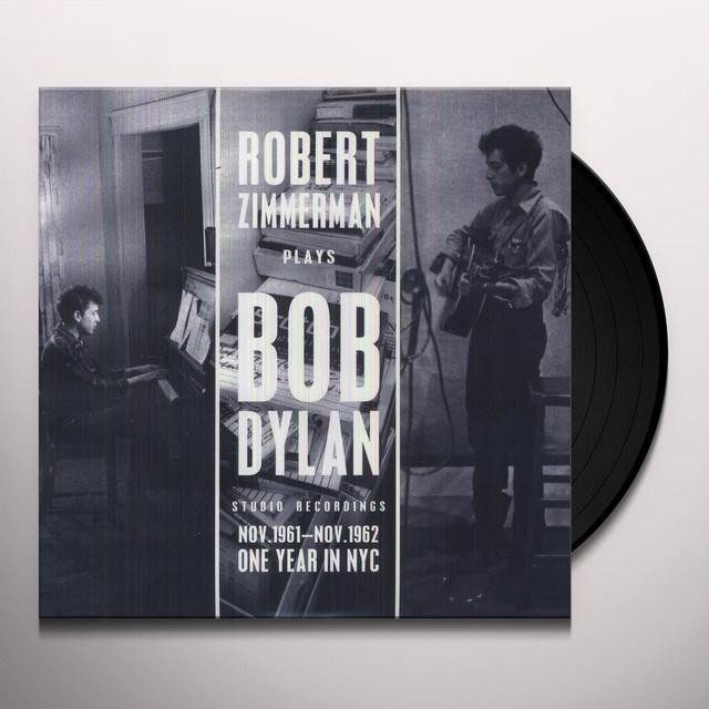 ROBERT ZIMMERMAN PLAYS BOB DYLAN Vinyl Record