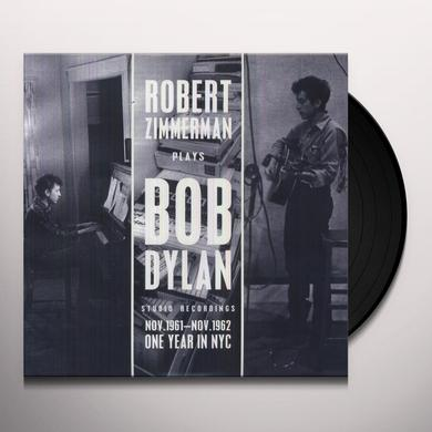 ROBERT ZIMMERMAN PLAYS BOB DYLAN Vinyl Record