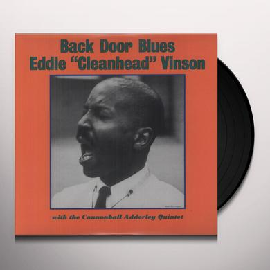 "Eddie ""Cleanhead"" Vinson BACK DOOR BLUES WITH THE CANNONBALL ADDERLEY Vinyl Record"