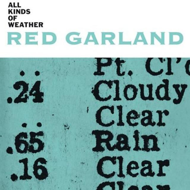 Red Garland ALL KINDS OF WEATHER Vinyl Record