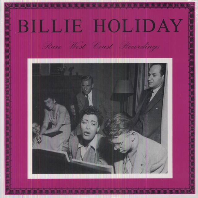 Billie Holiday RARE WEST COAST RECORDINGS Vinyl Record