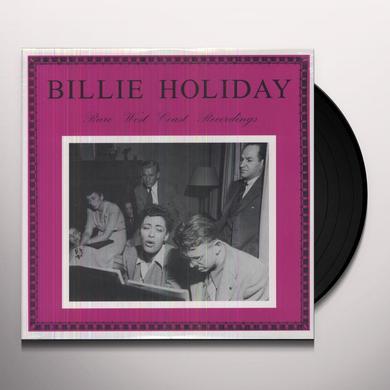 Billie Holiday RARE WEST COAST RECORDINGS Vinyl Record