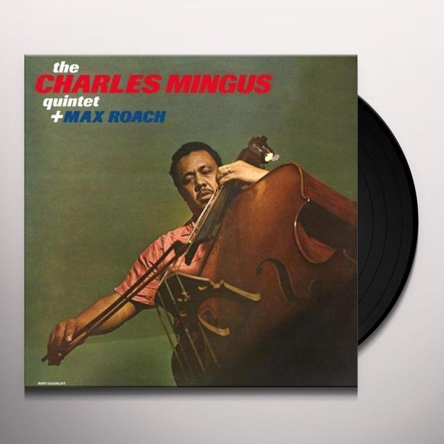 Bud Powell, Charles Mingus, Max Roach CHARLES MINGUS QUINTET & MAX ROACH Vinyl Record