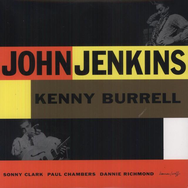 John Jenkins WITH KENNY BURRELL Vinyl Record