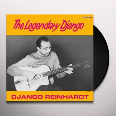 Django Reinhardt LEGENDARY DJANGO Vinyl Record
