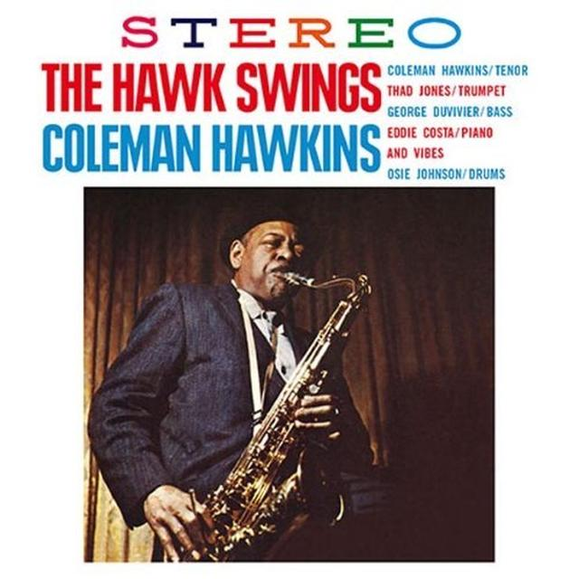 Coleman Hawkins HAWK SWINGS Vinyl Record
