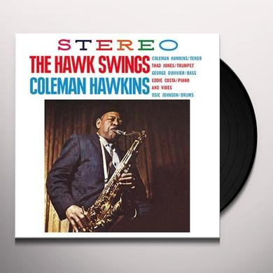 Coleman Hawkins HAWK SWINGS Vinyl Record