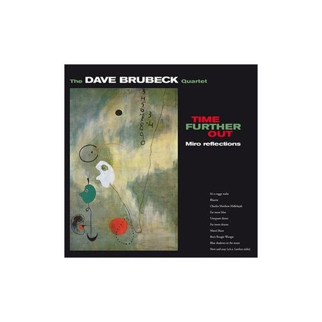 Dave Brubeck TIME FURTHER OUT Vinyl Record