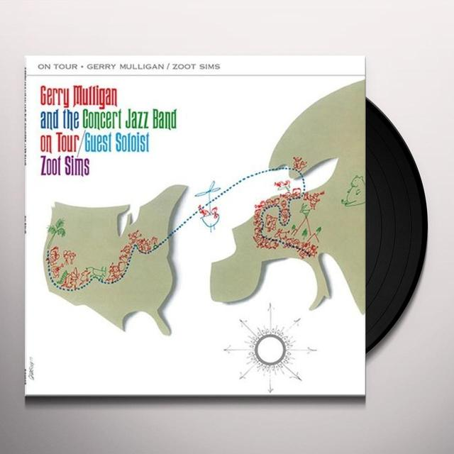 Gerry Mulligan & The Concert Jazz Band ON TOUR Vinyl Record