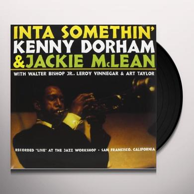 Kenny Dorham and Jackie McLean INTA SOMETHIN' Vinyl Record
