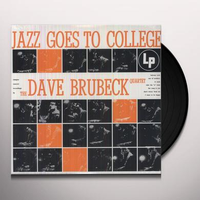 Dave Brubeck JAZZ GOES TO COLLEGE Vinyl Record