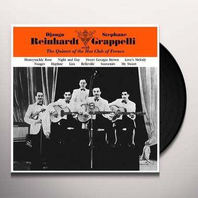 Django Reinhardt And Stephane Grappelli (Vocals Beryl Davis) WITH THE QUINTET OF THE HOT CLUB OF FRANCE Vinyl Record