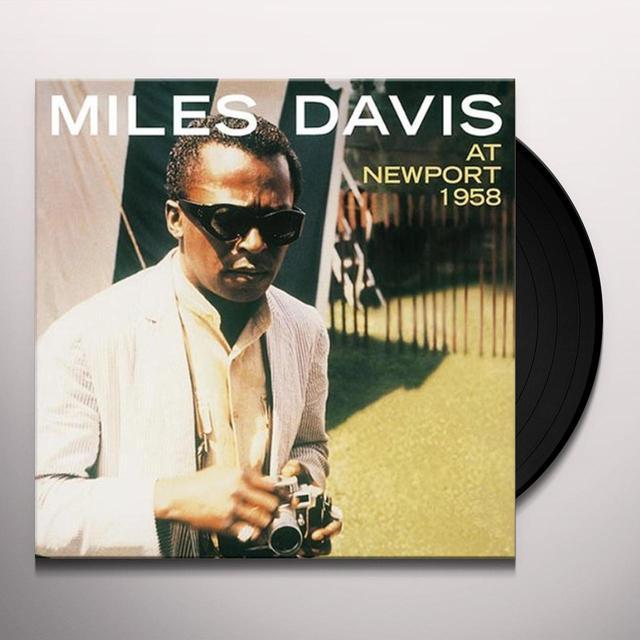 Miles Davis AT NEWPORT 1958 Vinyl Record