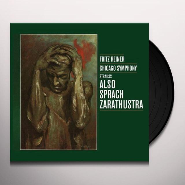 Fritz Reiner RICHARD STRAUSS ALSO SPRACH ZARATHUSTRA Vinyl Record