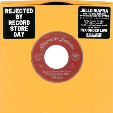Jello Biafra / New Orleans Raunch / Soul All-Stars FANNIE MAE / JUST A LITTLE BIT Vinyl Record