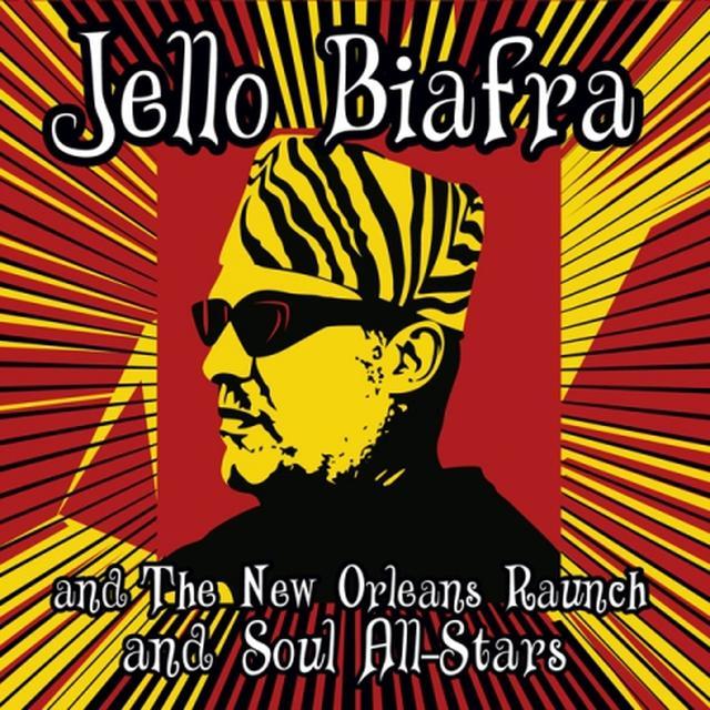 Jello Biafra / New Orleans Raunch / Soul All-Stars WALK ON JINDALS SPLINTERS Vinyl Record