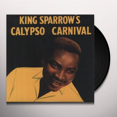 Mighty Sparrow KING SPARROW'S CALYPSO CARNIVAL Vinyl Record