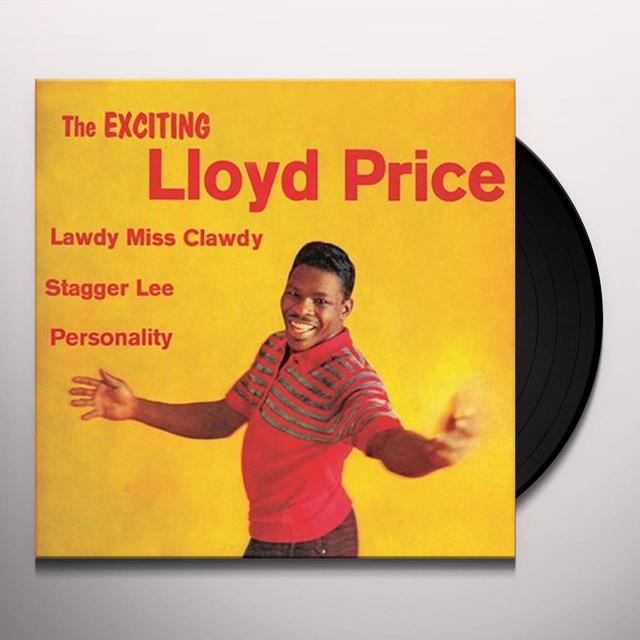EXCITING LLOYD PRICE Vinyl Record