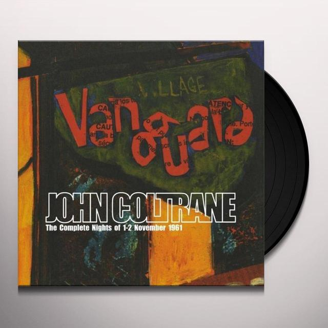 John Coltrane COMPLETE NIGHTS OF 1-2 NOVEMBER 1961 Vinyl Record