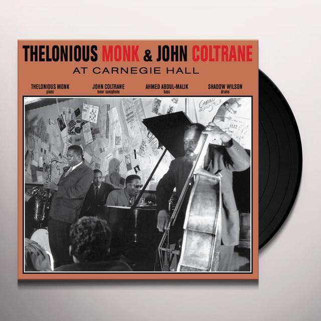 John Coltrane & Thelonious Monk AT CARNEGIE HALL Vinyl Record