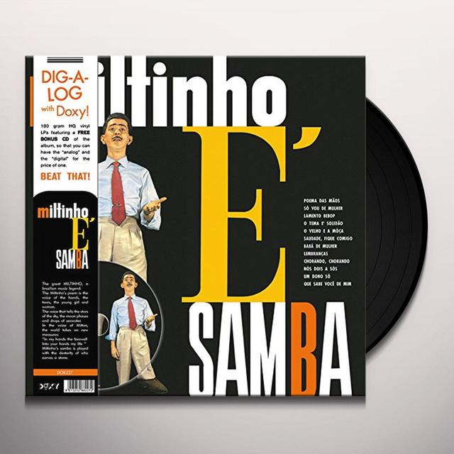MILTINHO E SAMBA Vinyl Record - w/CD