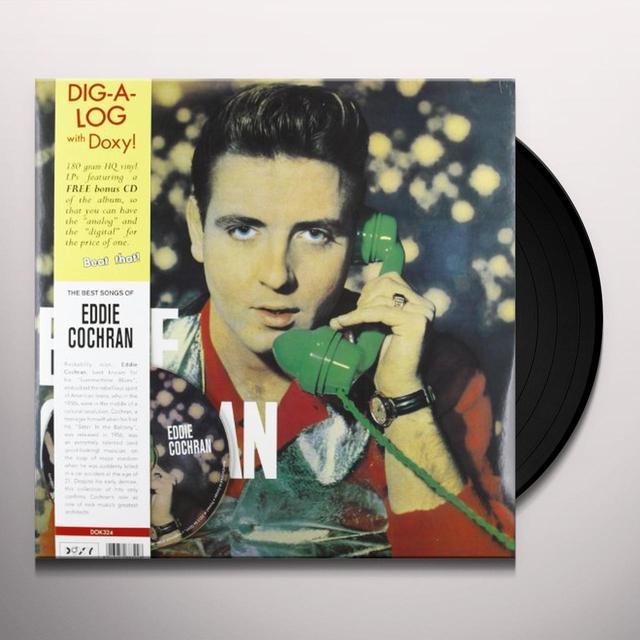 EDDIE COCHRAN Vinyl Record - w/CD