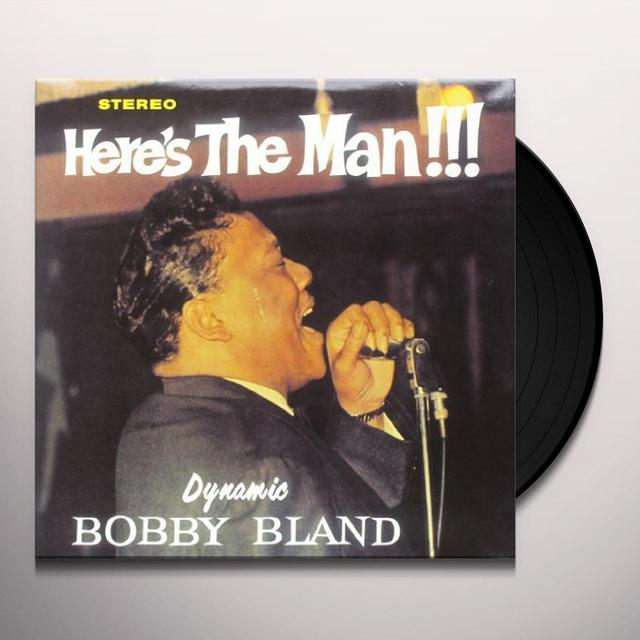 "Bobby ""Blue"" Bland HERE'S THE MAN Vinyl Record - w/CD"