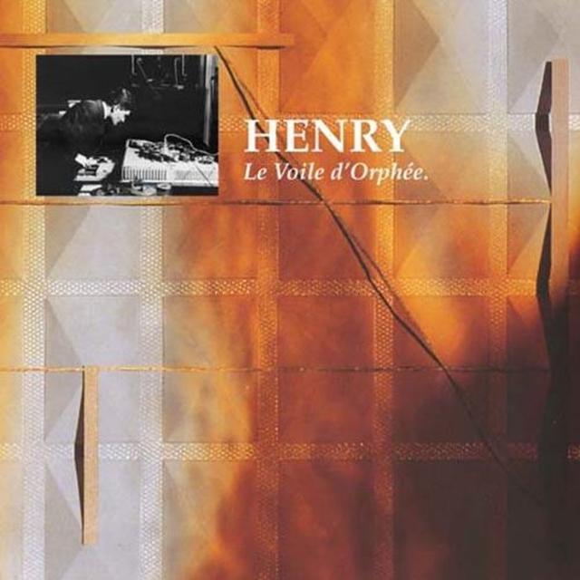 Pierre Henry LE VOILE D'ORPHEE Vinyl Record