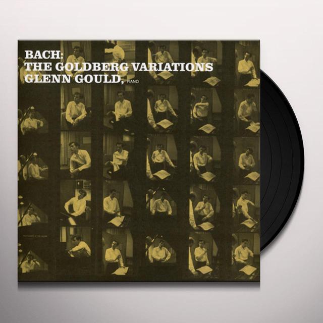 Bach / Glenn Gould GOLDBERG VARIATIONS Vinyl Record