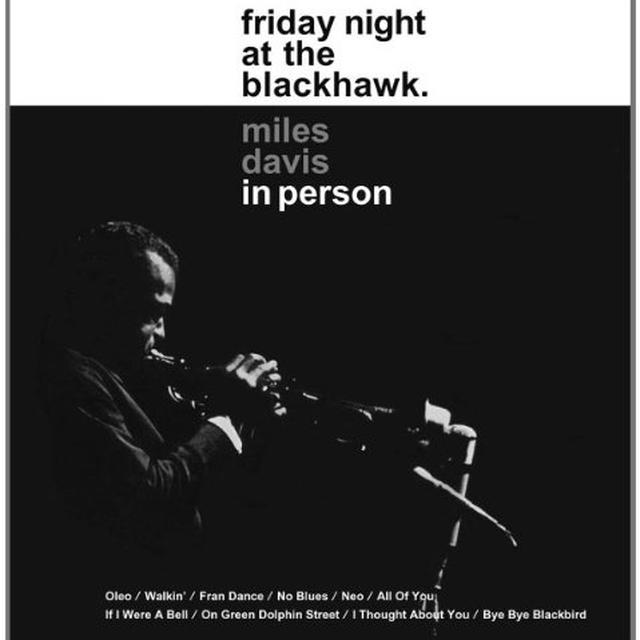 Miles Davis IN PERSON FRIDAY NIGHT AT THE BLACKHAWK Vinyl Record